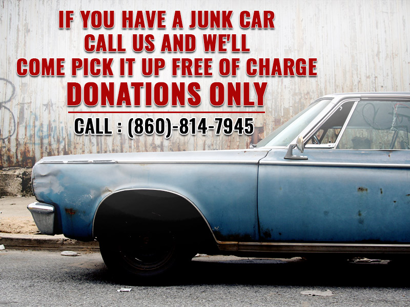 If you have a junk car call us and we'll come pick it up free of charge.Donations only